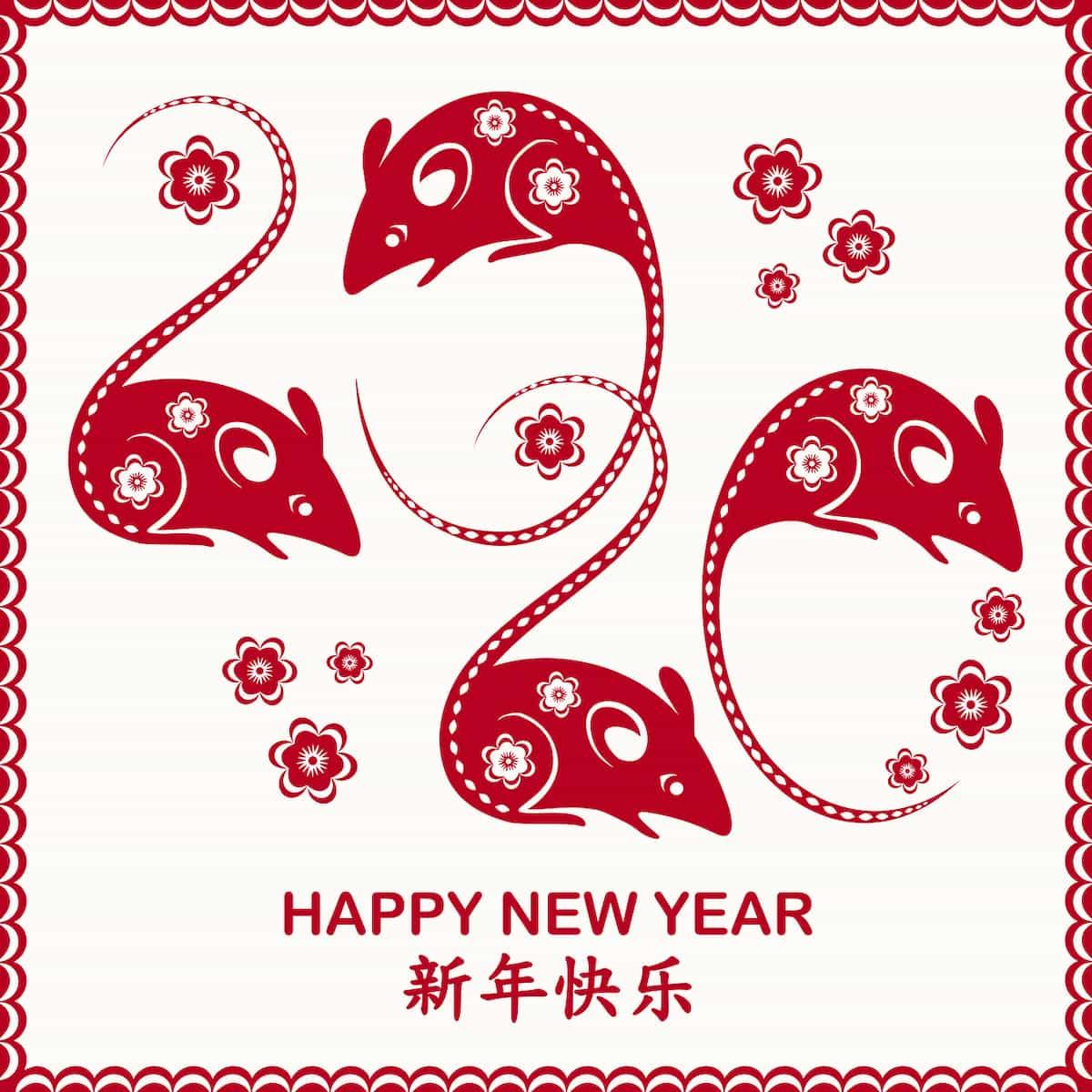 Happy Luna New Year、春節(旧正月)の日付の仕組み