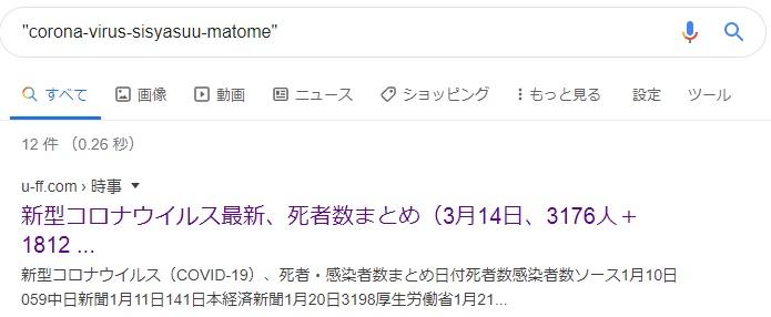Googleがクロールした日時を確認、Google検索結果