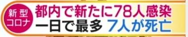 テレ朝news弯曲テロップ